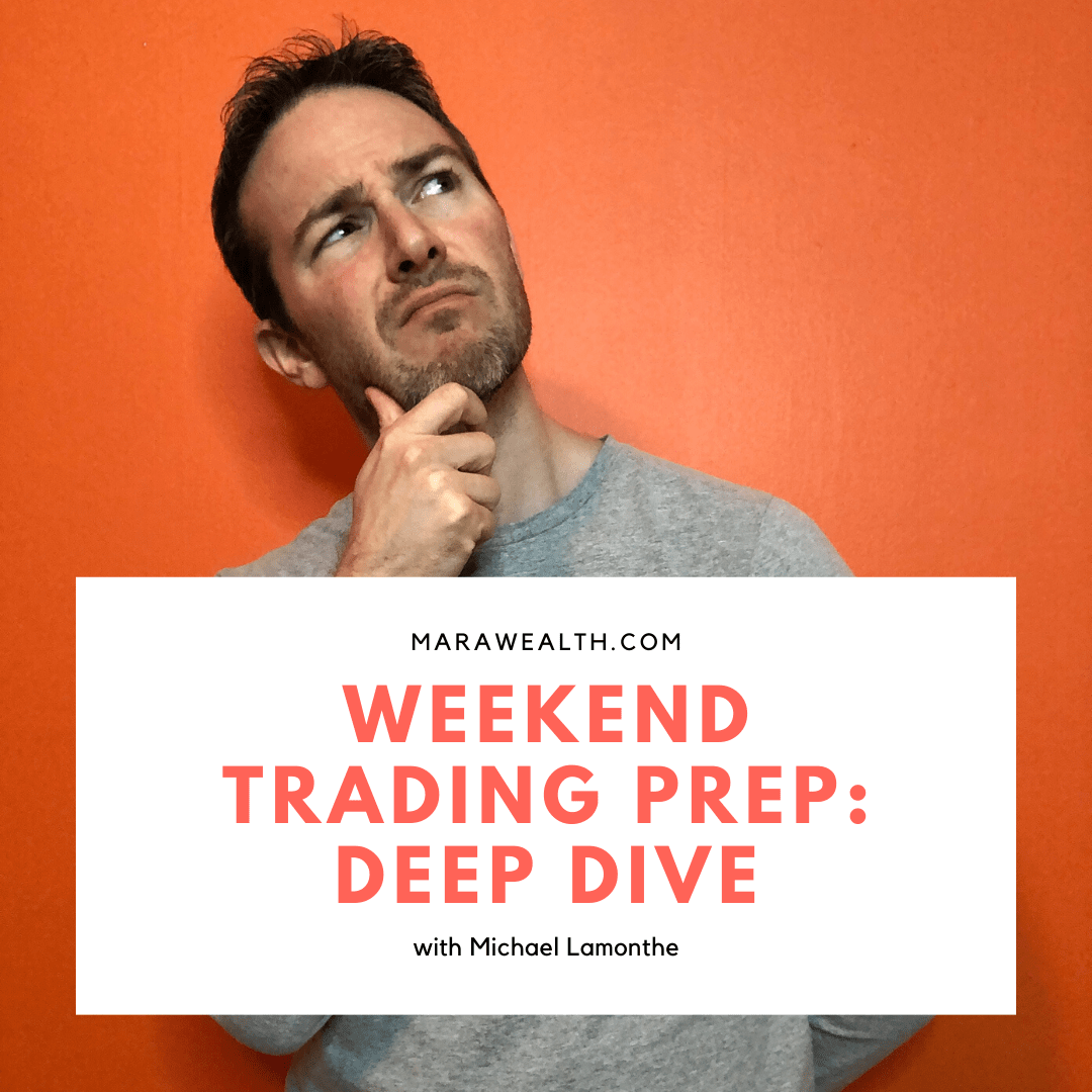 Weekend Trading Prep DEEP DIVE
